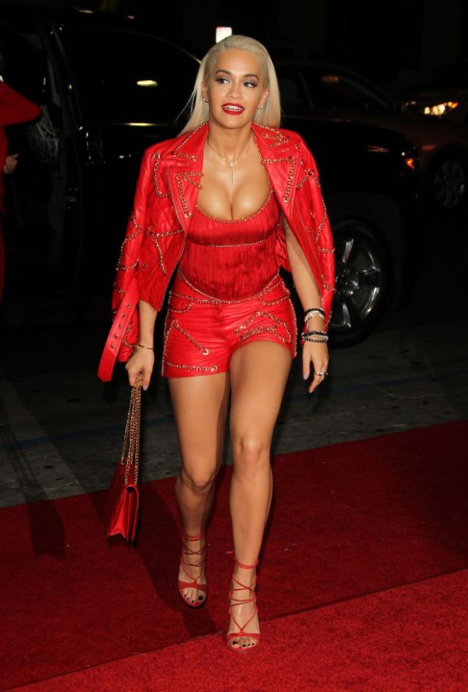Rita Ora le 8 septembre 2015