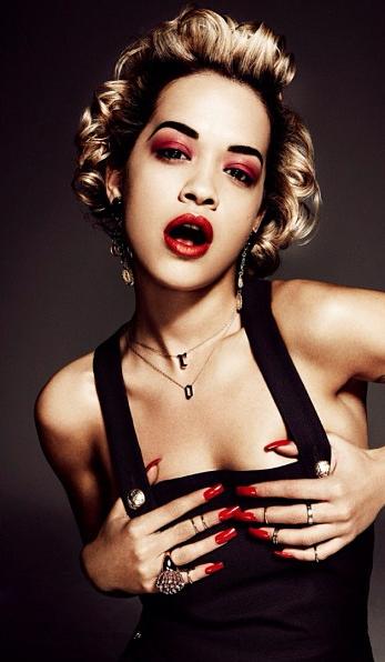 Rita Ora : dans les coulisses d'Interview Magazine !