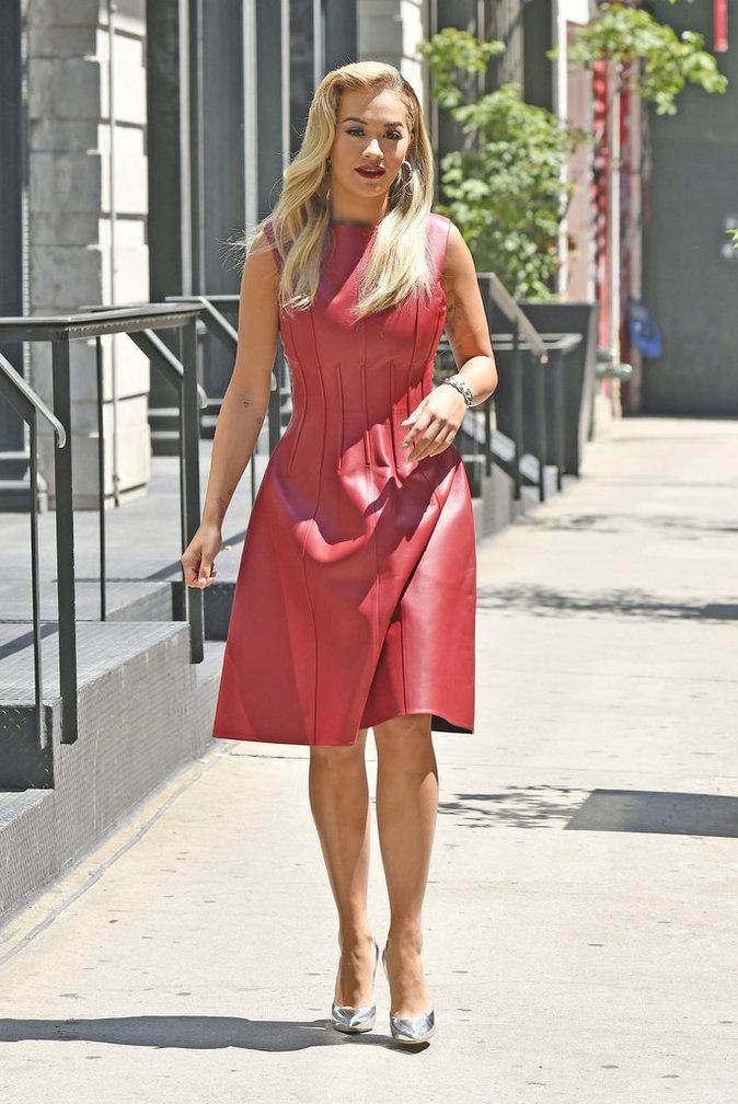 Rita Ora dans les rues de New York ce vendredi 22 juillet 2016