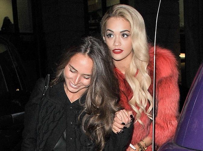 Rita Ora et Chloe Green à Londres le 28 mars 2014