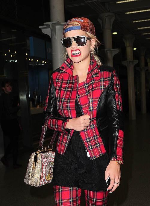 Rita Ora à Londres le 2 octobre 2013