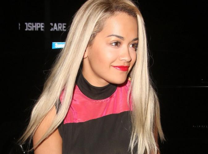 Photos : Rita Ora en survet' pour une soirée luxe !