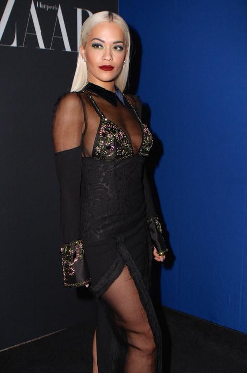 Rita Ora à New-York le 16 septembre 2015