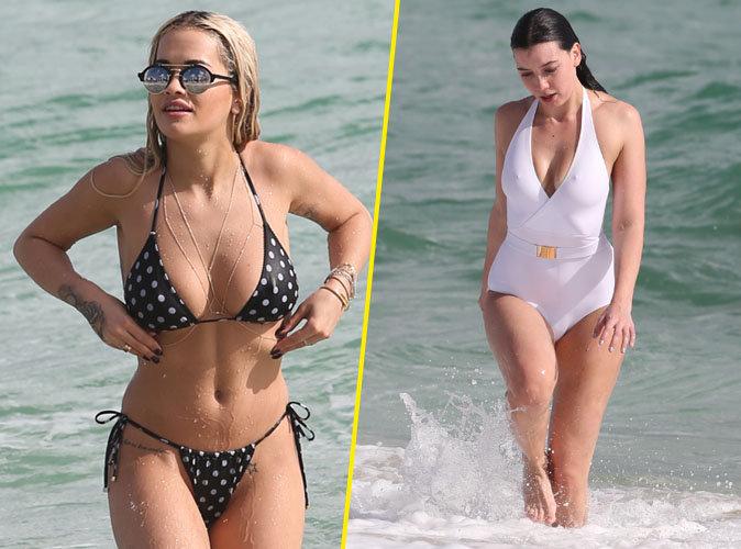 Rita Ora et Daisy Lowe : duo de bombes à la plage !