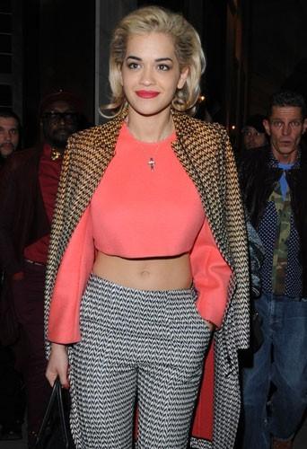 Rita Ora à Londres le 18 février 2013