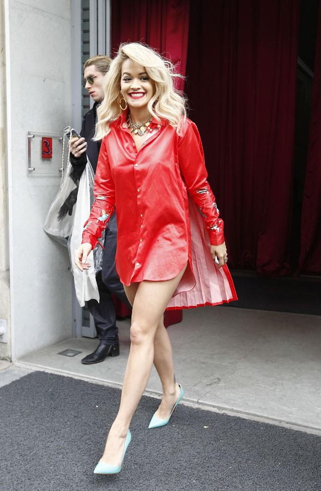 Rita Ora à Paris le 27 mai 2014