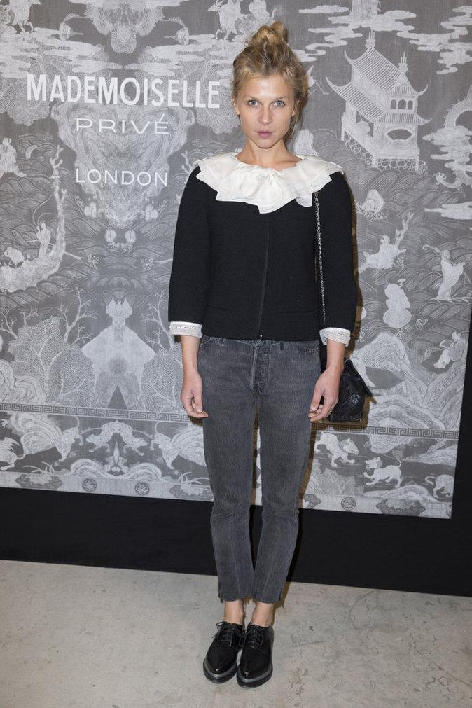 Clémence Poésy le 12 octobre 2015