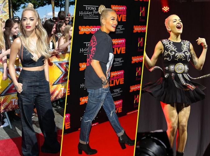 Photos : Rita Ora : malgré la rupture, elle donne tout pour ses fans !