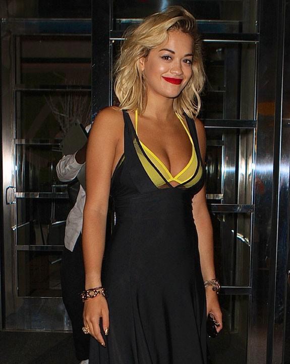 Rita Ora à New-York le 31 juillet 2013