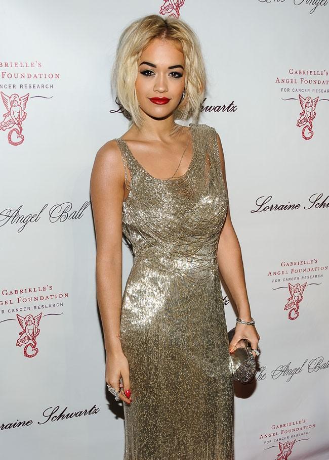 Rita Ora au Gabrielle's Angel Foundation 2013 Angel Ball organisé à New-York le 29 octobre 2013