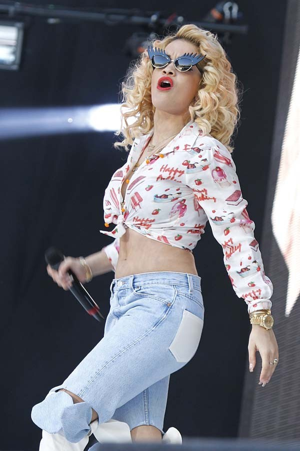 Rita Ora au Capital FM Summertime Ball 2012 le 9 juin 2012