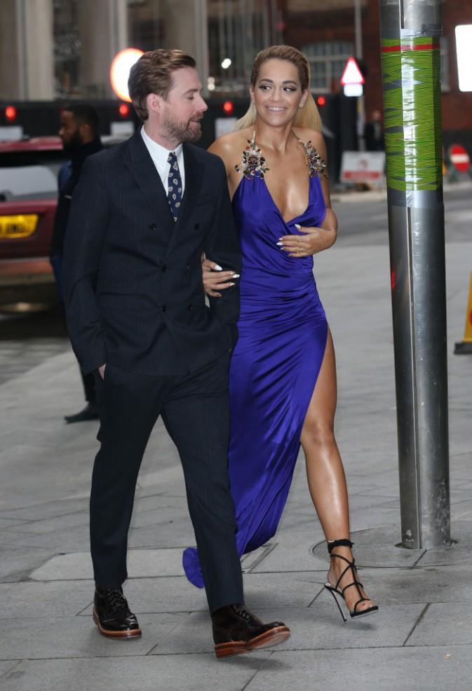 Rita Ora et Ricky Wilson le 5 janvier 2015