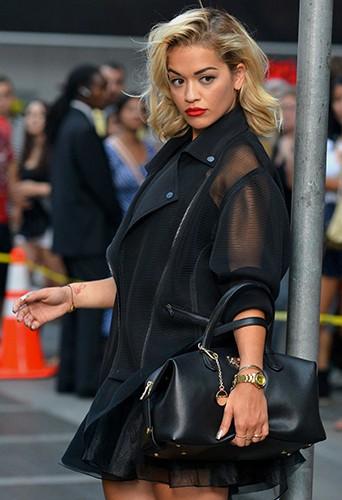 Rita Ora à New-York le 30 juillet 2013