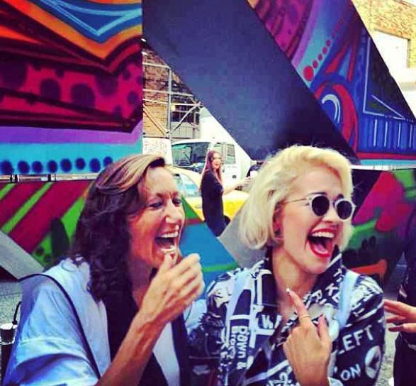 Donna Karan et Rita Ora