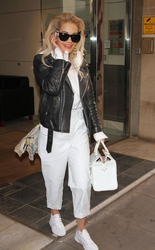 Rita Ora, Londres, 4 février 2013.