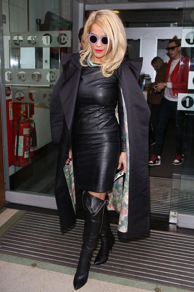 Rita Ora à Londres le 5 novembre 2012