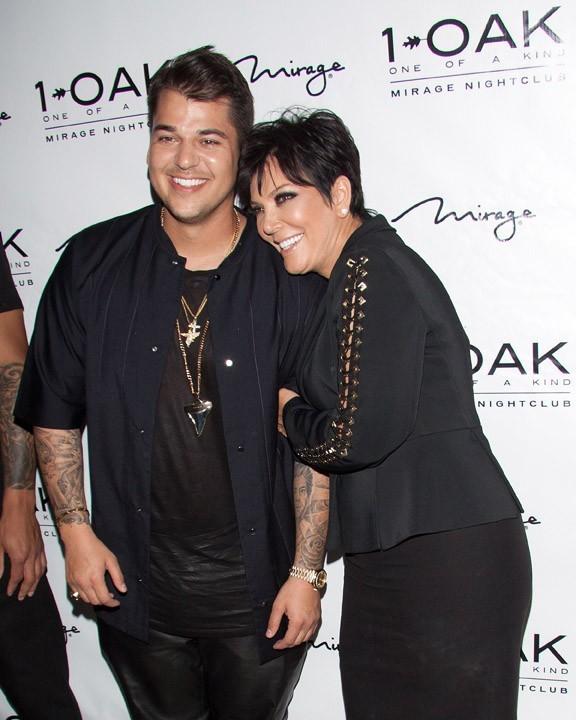 Rob Kardashian à Las Vegas pour son 26 ème anniversaire le 15 mars 2013