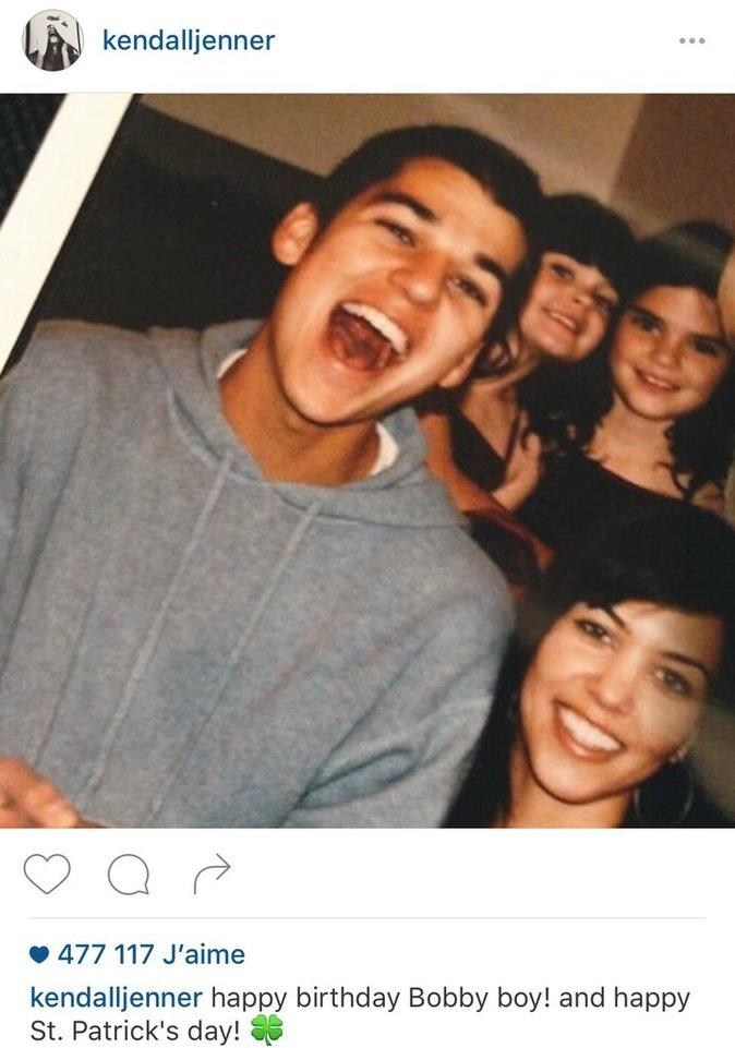 le message de Kendall pour son frère