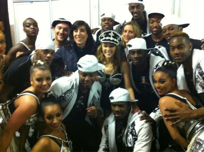 Kylie et ses danseurs