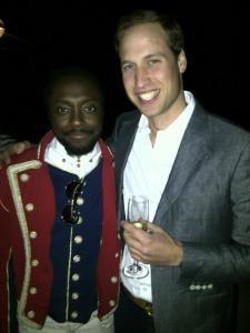 Will.i.am et le prince William