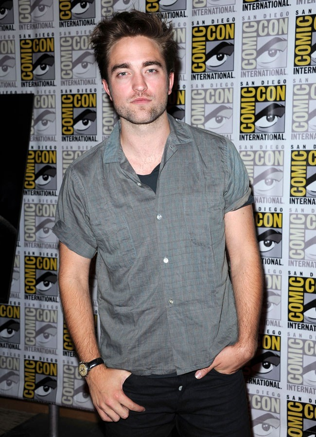 Robert Pattinson le 12 juillet 2012 à San Diego