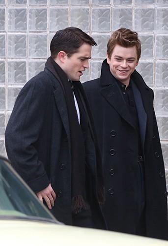Robert Pattinson et Dane DeHaan à Toronto le 19 février 2014