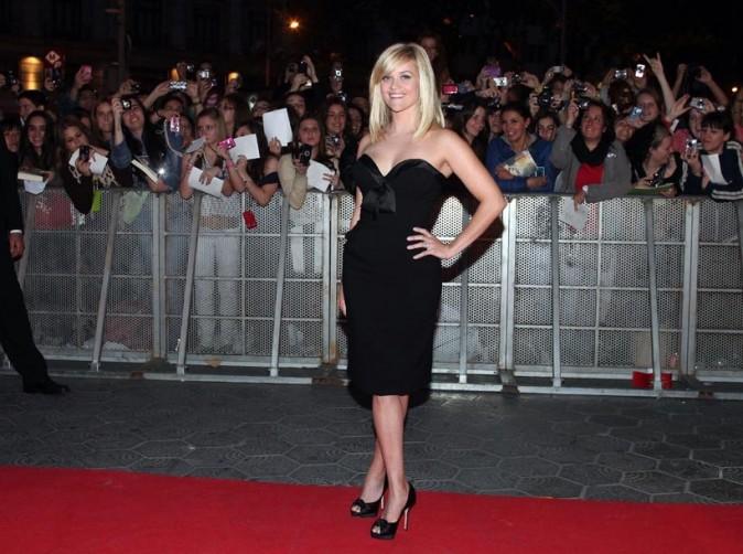 Reese Witherspoon lors de la première du film De l'eau pour les éléphants à Barcelone, le 01 mai 2011.