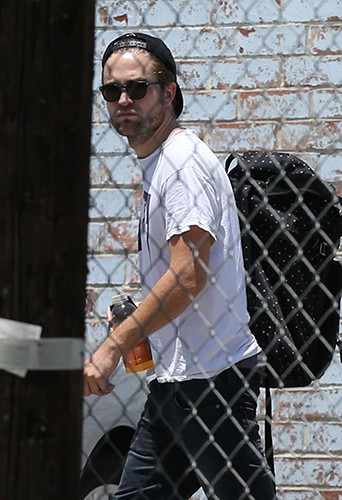Robert Pattinson à Los Angeles le 9 juillet 2013