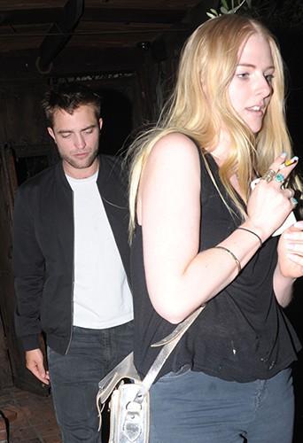 Robert Pattinson à Los Angeles le 2 mai 2014