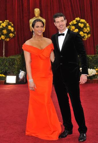 Robin Thicke et Paula Patton le 07 mars 2010 !