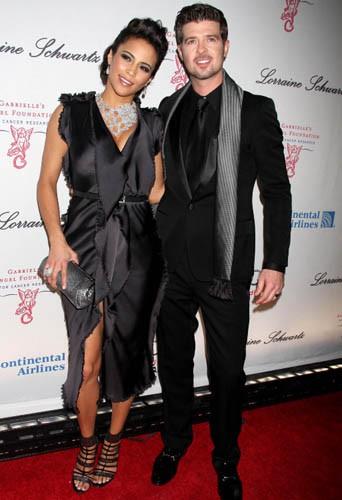 Robin Thicke et Paula Patton le 20 octobre 2009 !