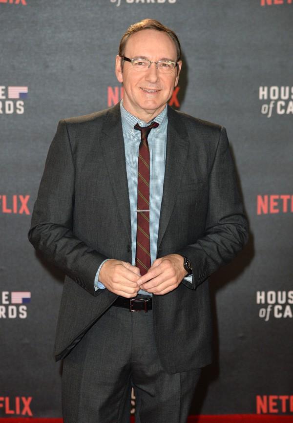 Robin Wright et Kevin Spacey : le duo d'House of Cards se retrouve pour le lancement de la saison 3 !