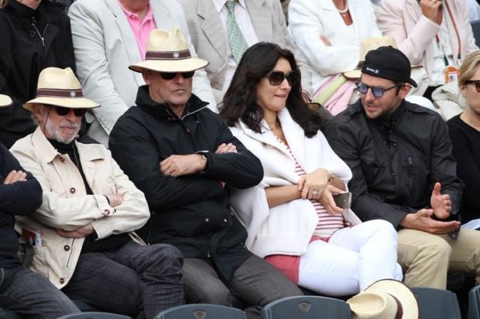En pleine discussion avec Sofia, l'épouse de Jean Reno !