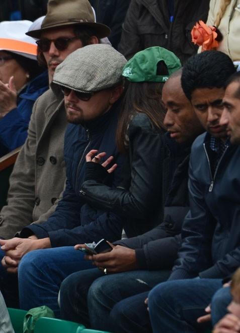 Leonardo DiCaprio à Roland-Garros le 9 juin 2013