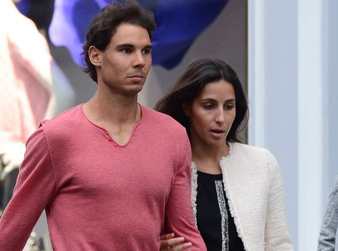 Roland Garros 2014 : Rafael Nadal : virée romantique avec sa girlfriend dans les chics quartiers parisiens !
