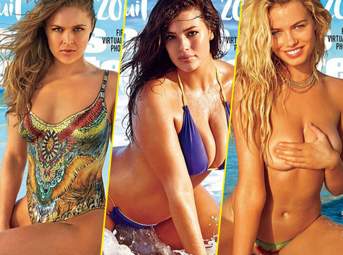 Ronda Rousey, Ashley Graham et Hailey Clauson en Une de Sports Illustrated