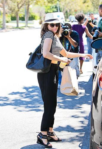 Rose McGowan à West Hollywood le 23 août 2013