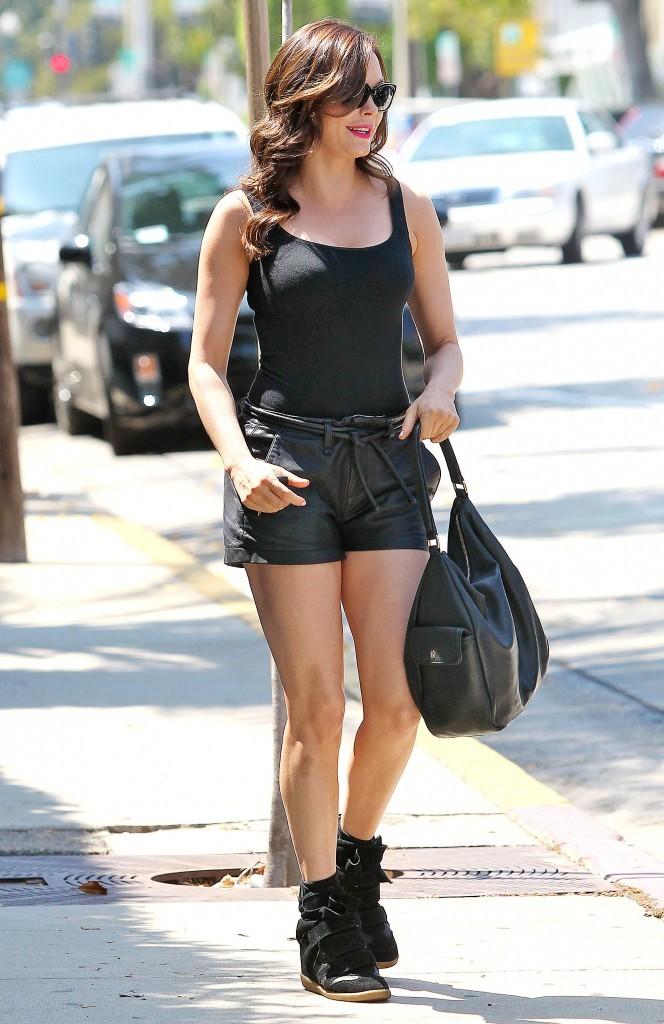 Rose Mcgowan, Beverly Hills, 23 aout 2012