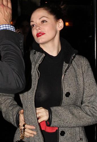 Rose McGowan à Los Angeles le 21 mars 2014