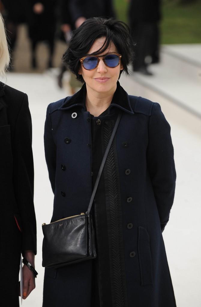 Sharleen Spiteri lors du défilé Burberry à Londres, le 20 février 2012.