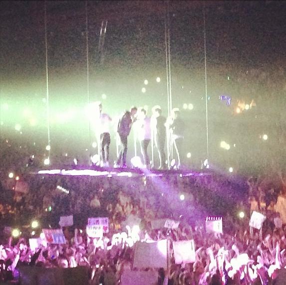 Rosie Huntington-Whiteley est fan des One Direction !