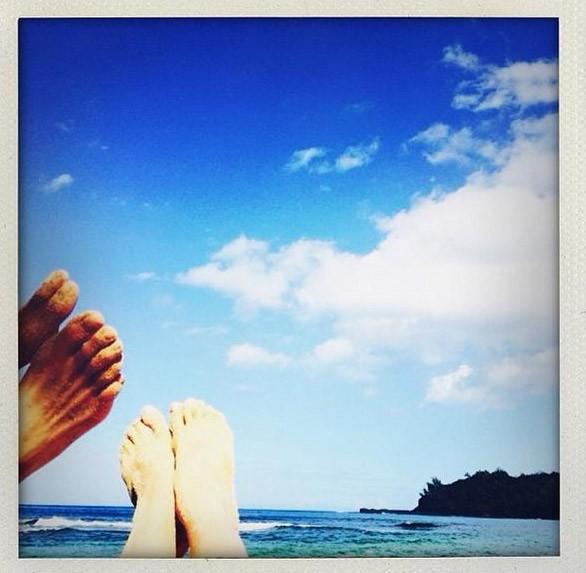 Les vacances de rêve de Rosie Huntington-Whiteley à Hawaï...