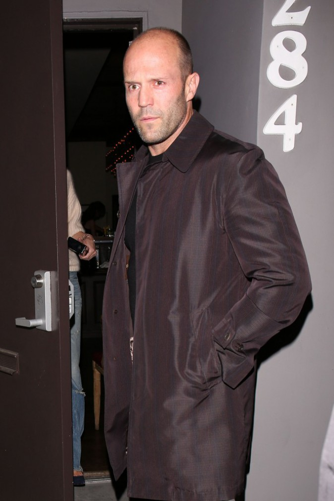 Jason Statham à West Hollywood, le 4 mars 2014.