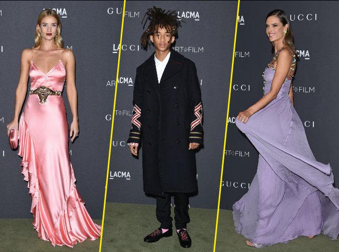 Rosie Huntington-Whiteley, Jaden Smith, Alessandra Ambrosio... les invités de luxe du Gala LACMA !