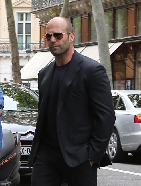Jason Statham à Paris, le 26 septembre 2013.