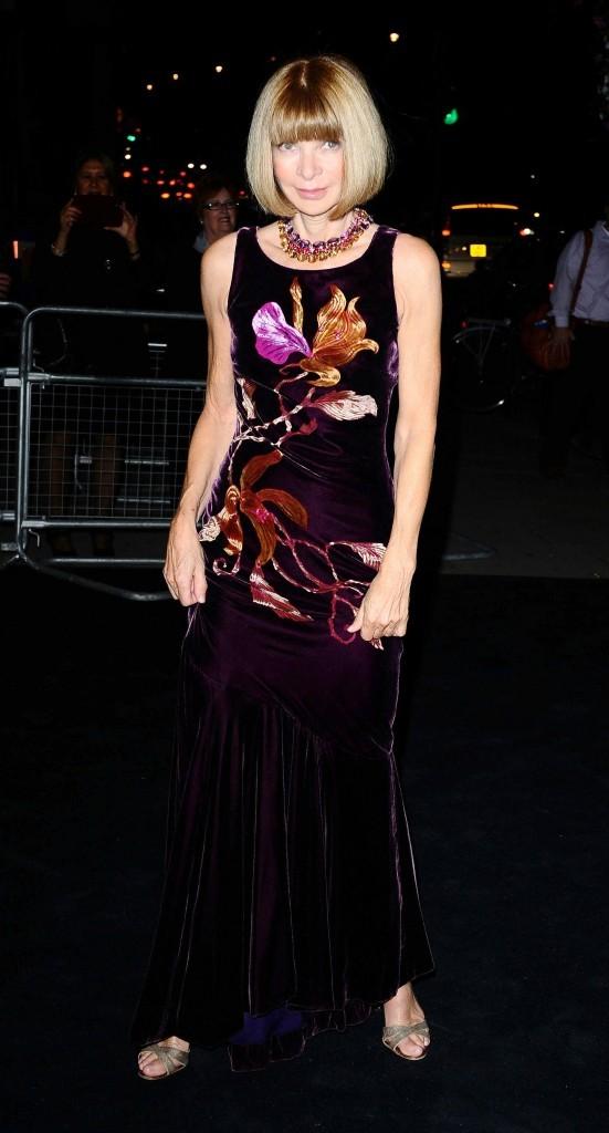 Anna Wintour lors de la soirée Moët & Chandon Etoile Award Ceremony à Londres, le 19 septembre 2011.