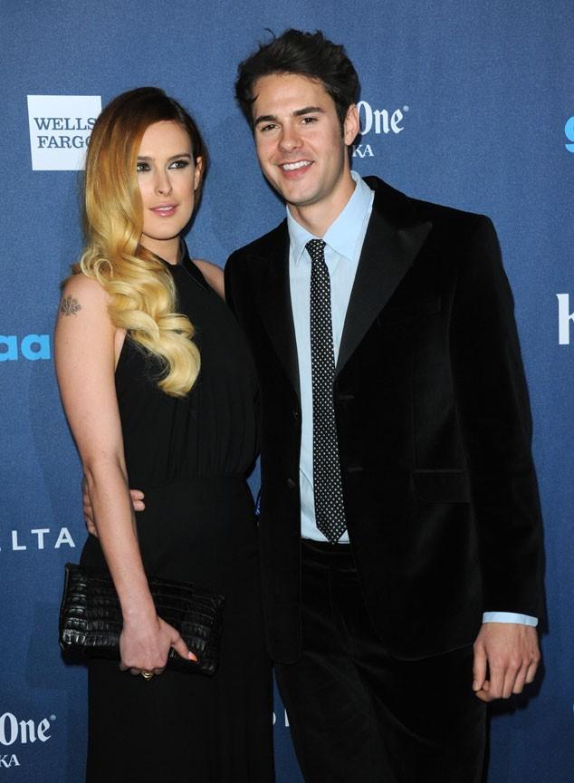 Rumer Willis et son boyfriend Jayson Blair lors des GLAAD Media Awards à Los Angeles le 20 avril 2013