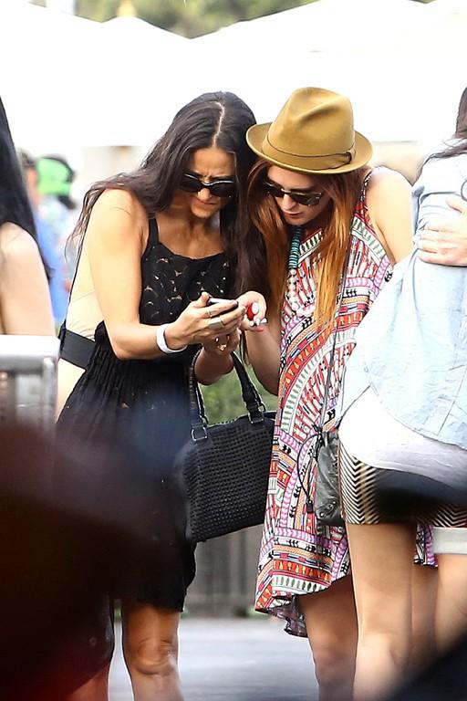 Rumer Willis et Demi Moore à Los Angeles le 14 juillet 2013