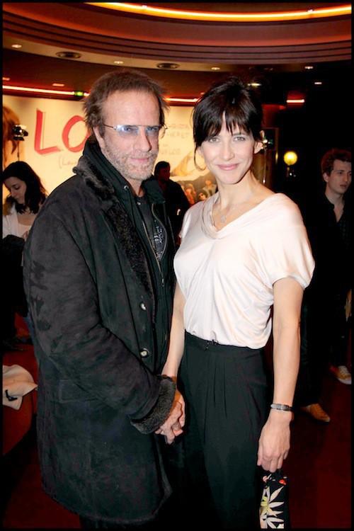 Sophie Marceau et Christophe Lambert à l'avant première de LOL en février 2009