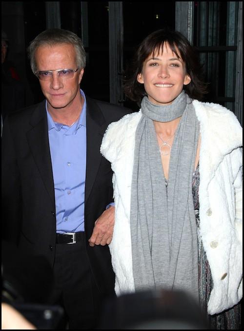Sophie Marceau et Christophe Lambert à la première de L'homme de chevet en 2009